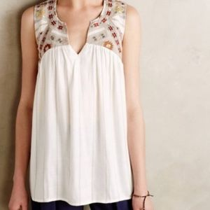One September by Anthropologie Tacana Tank/Sz M
